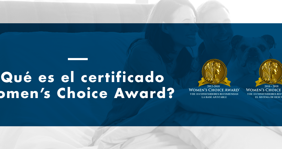 ¿Qué es el certificado Women's Choice Awards?